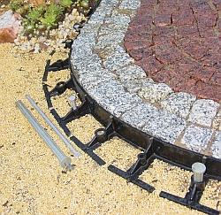 Garten und Landschaftsbau Rasenkante Kunststoff